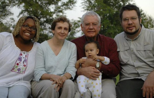 Parker, Grandma, Grandpop, Cypress and Mark